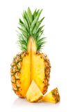 ananas owoc rżnięta świeża Fotografia Royalty Free