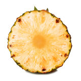 Ananas på vitbakgrund Royaltyfria Bilder