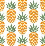Ananas. Patroon Stock Afbeeldingen