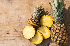 Ananas. This is a pineapple Stock Photography