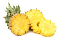 Pineapple. Ananas pineapple and its slices Stock Photo