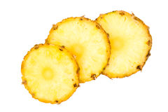 Ananas (pineapple) slices Stock Photography