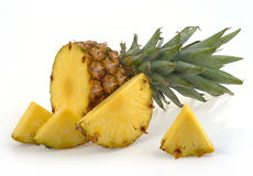 Ananas plasterki Zdjęcie Royalty Free