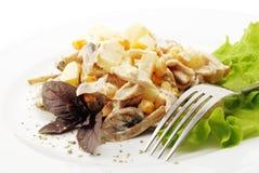 Ananas-Salat Stockfotos