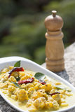 Ananas Sasam or pineapple sasam is a unique dish from goa, India Stock Images