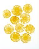 Ananas secco organico Fotografia Stock