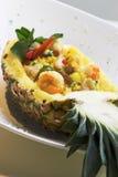 ananas smażonego ryżu Zdjęcia Royalty Free