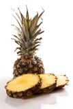 Ananas sur le blanc Photo stock
