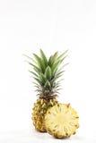 Ananas sur le fond blanc Images libres de droits