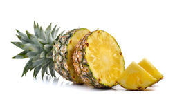 Ananas sur le fond blanc photo libre de droits