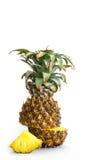 Ananas sur le fond blanc Image libre de droits