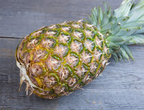 Ananas on the table Stock Photography