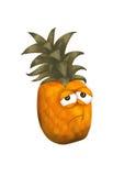 Ananas triste illustrazione di stock
