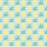 Ananas vectorpatroon vector illustratie