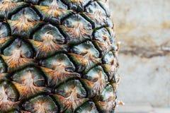 Ananas z powierzchnią zdjęcie stock