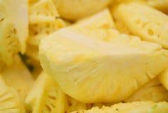 Ananasbrokken Royalty-vrije Stock Foto