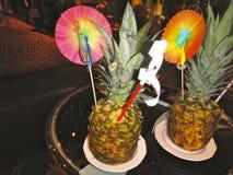 Ananascoctail Arkivbild
