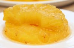 Ananasdessert Stock Foto's