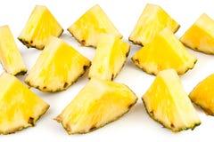 Ananasen stor bit Royaltyfri Fotografi