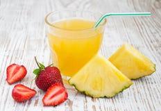 Ananasfruktsaft Royaltyfria Foton