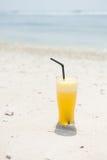Ananasfruktsaft Fotografering för Bildbyråer