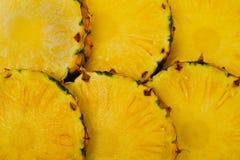 Ananashintergrund stockbilder