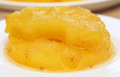Ananasnachtisch Stockfotos