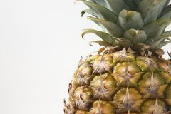 Ananasnahaufnahme lizenzfreies stockbild