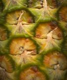 Ananasnahaufnahme Stockbild