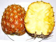 Ananasowa owoc fotografia royalty free