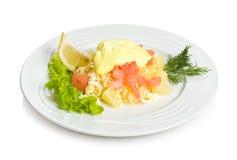 ananasowa sałatkowa garnela Zdjęcie Royalty Free