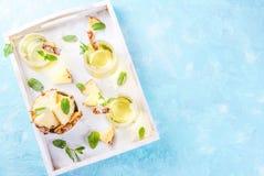 Ananasowego soku margarita Zdjęcia Stock