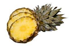 ananasowi plasterki Zdjęcia Royalty Free