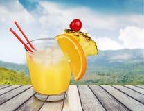Ananasowy koktajl obrazy royalty free