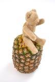 ananasowy miś pluszowy Obraz Royalty Free