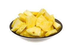 ananasowy plasterek Zdjęcie Stock