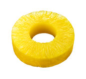 ananasowy plasterek Obrazy Stock