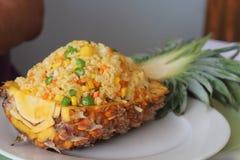 Ananasowy Rice Fotografia Stock