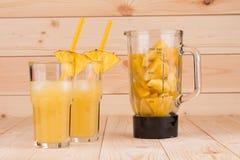 Ananasowy sok Obrazy Royalty Free