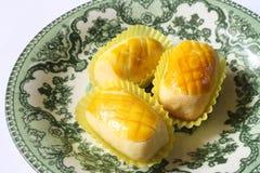 Ananasowy tarta Zdjęcia Stock