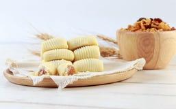 Ananasowy tarta Zdjęcie Stock