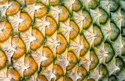 Ananasowy tekstury tło Fotografia Stock