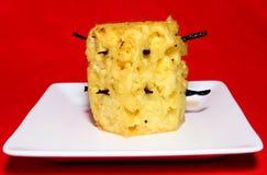 ananasowych strąków pieczona wanilia Fotografia Royalty Free