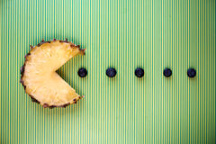 Ananasscheibe Lizenzfreie Stockbilder