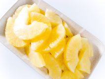 Ananasscheiben Stockfoto