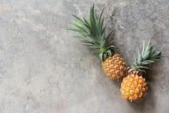 ananassen stock fotografie