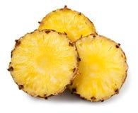 ananasskivor Fotografering för Bildbyråer