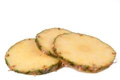 Ananasstücke Lizenzfreie Stockbilder