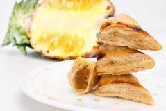 Ananastorte lizenzfreies stockbild