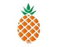 Ananasvektor Lizenzfreies Stockbild
